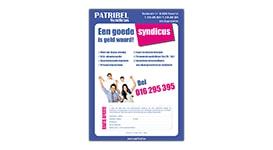 Folder voor Patribel te Aarschot