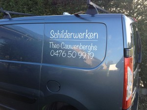 belettering camionet