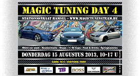 Flyer voor Magic Tuning te Ramsel