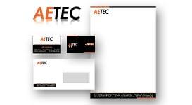 Huisstijl voor Aetec te Gierle