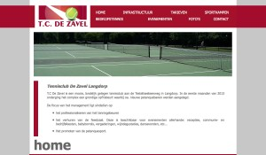website voor tc de zavel