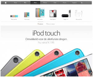 ipod touch design